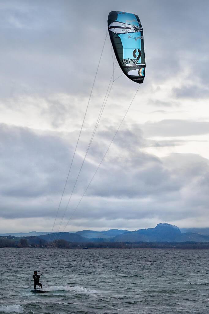 Kitesurfen an Bodensee