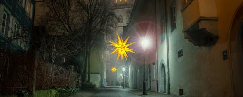 Münster Blick Katzgasse