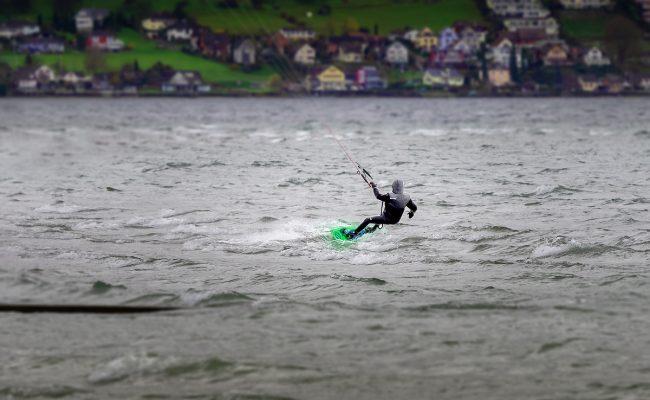 Kitesurfen am Bodensee